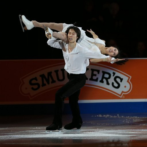 Chinese figure skating duo Pang Qing and Tong Jian