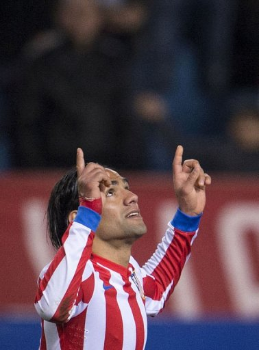 Atletico Madrid's Radamel Falcao has taken some of the protagonism from Messi and Ronaldo with his goal prowess