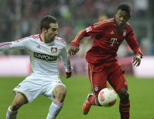 League leaders Bayern suffered a shock 2-1 defeat at home to Bayer Leverkusen last Sunday