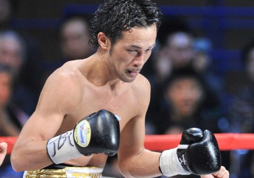 Shinsuke Yamanke made a second successful defence of his WBC bantamweight crown