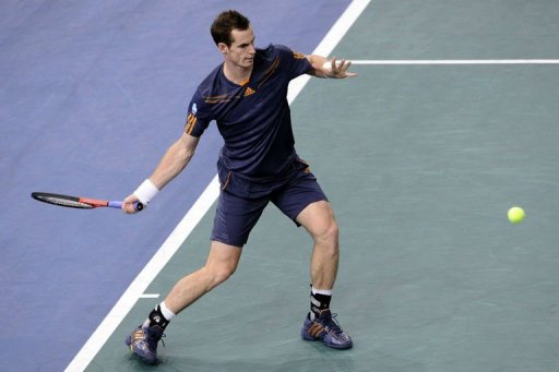 Murray will be hoping to repeat his dramatic win over Djokovic in the US Open final