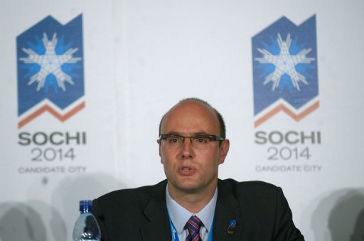 Sochi Games chief Dmitry Chernyshenko
