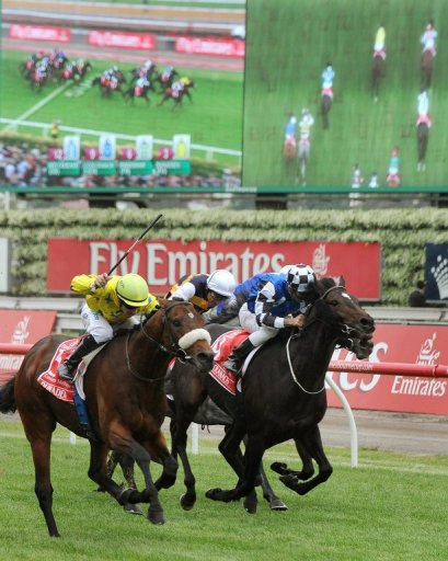 Dunaden beat British galloper Red Cadeaux by a nose to win last year's Cup