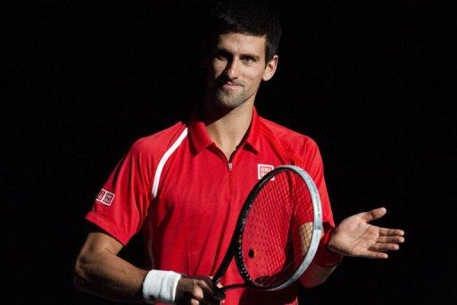 Novak Djokovic, pictured in October