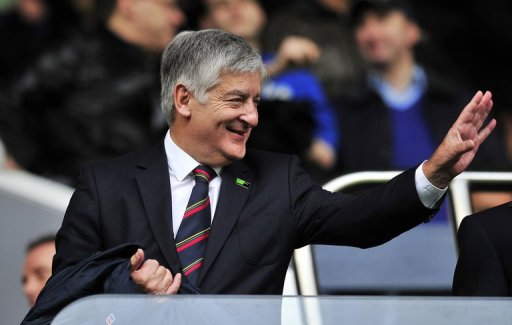 Football Association Chairman David Bernstein