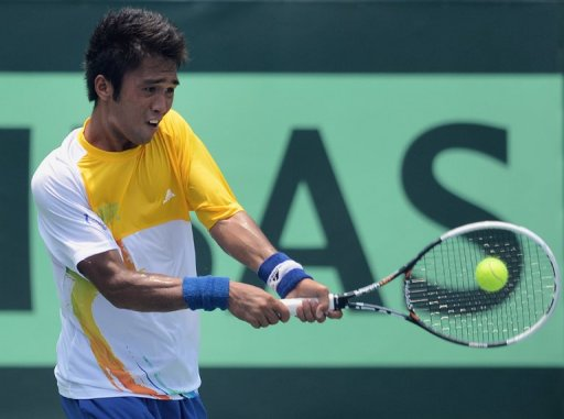 First round of the Davis Cup Asia-Ocenia Syria-Philippines group match had originally been scheduled for Syria