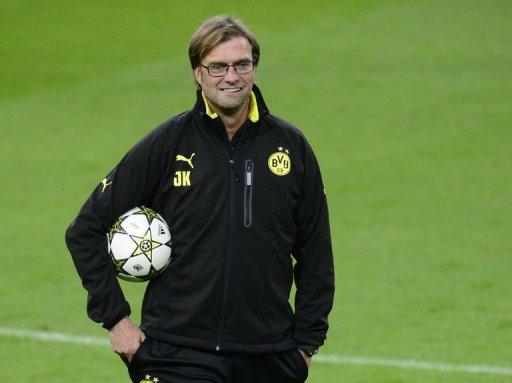 Dortmund's head coach Juergen Klopp