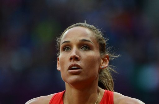 Two-time US Olympic hurdler Lolo Jones
