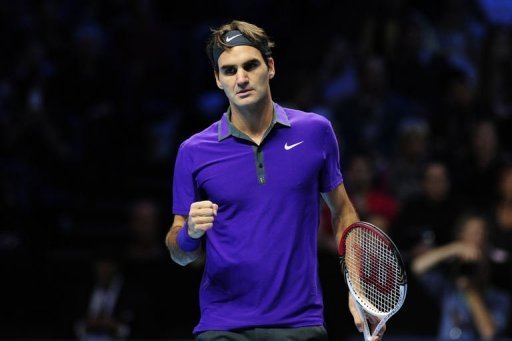 Federer's victory took him to 40 match wins at Tour, breaking the previous record of 39 held by Ivan Lendl