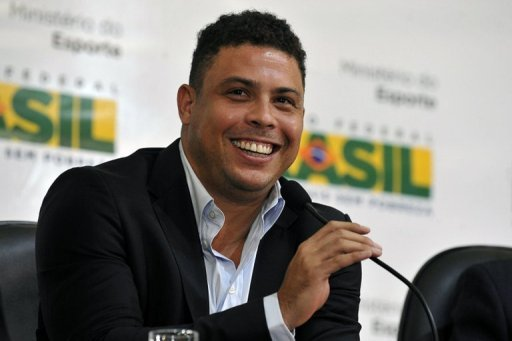 Ronaldo is a member of the Brazil 2014 FIFA World Cup organising committee