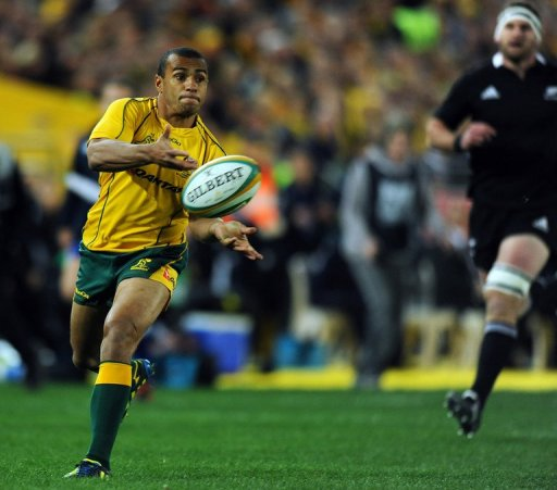 Matt Giteau said that the Wallabies would miss several players, especially Will Genia, pictured