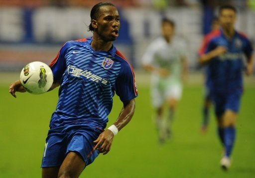 Didier Drogba has scored eight goals in 11 games since joining Shanghai Shenhua mid-term
