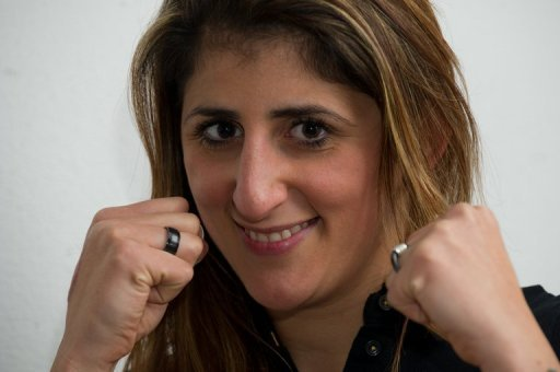 Rola El-Halabi will take on Italy's Lucia Morelli on January 13 in Ulm for the vacant IBA lightweight title