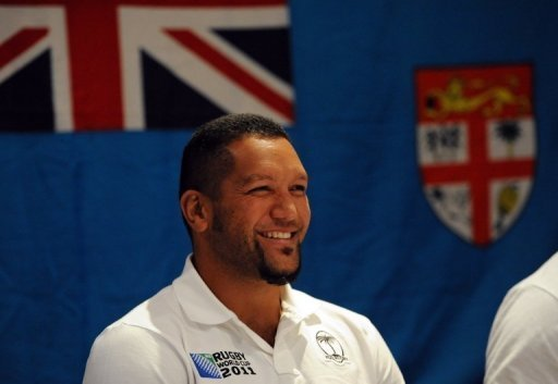 Former Fiji outside-half Nicky Little, pictured in Wellington during the 2011 Rugby World Cup