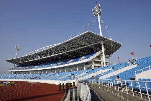 Hanoi's My Dinh Stadium pictured in April 2007