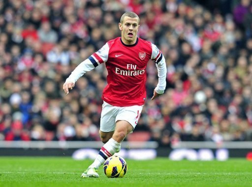 Arsenal playmaker Wilshere, 21, recently returned from 16 months on the sidelines through injury