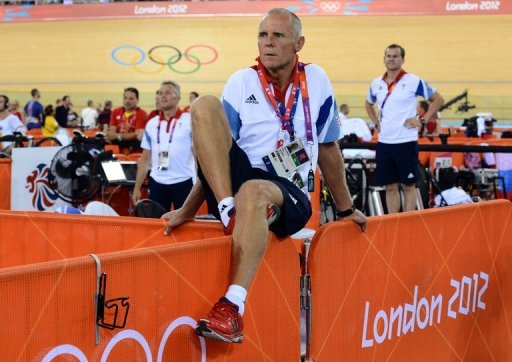 The British cycling team's head coach Shane Sutton pictured in August