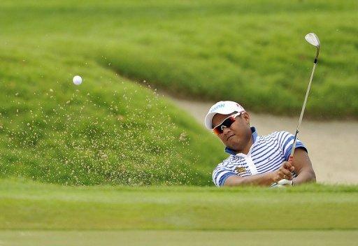Thailand's Chapchai Nirat on Friday led on six-under-par 65 on the demanding Sentosa Golf Club course
