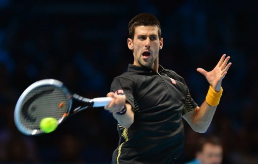 Novak Djokovich needed to win only one set against Tomas Berdych to be sure of reaching the semi-finals
