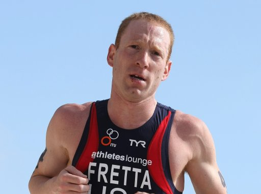 Former Triathlon World No. 1 Mark Fretta