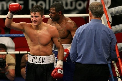 Nathan Cleverly, 25 and unbeaten in 24 pro fights, is hoping to follow in the footsteps of fellow Welshman Joe Calzaghe