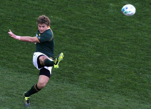 Pat Lambie on Saturday starts in place of the experienced Morne Steyn at outside-half