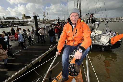 Mike Golding, a former firefighter, is tackling his fourth Vendee, with his best result a third place finish in 2005