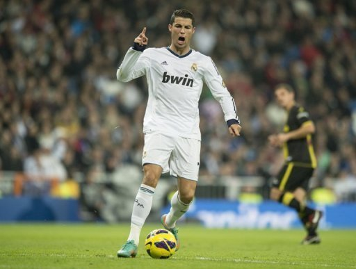 Ronaldo will play as a number nine against Levante on Sunday, Mourinho said