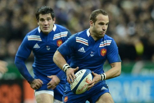 France fly-half Frederic Michalak scored 15 points with his boot