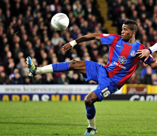 Crystal Palace's Wilfried Zaha, pictured in January