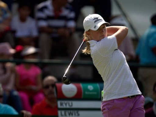 Stacy Lewis is the first US golfer to win the points-based Player of the Year award since Beth Daniel in 1994