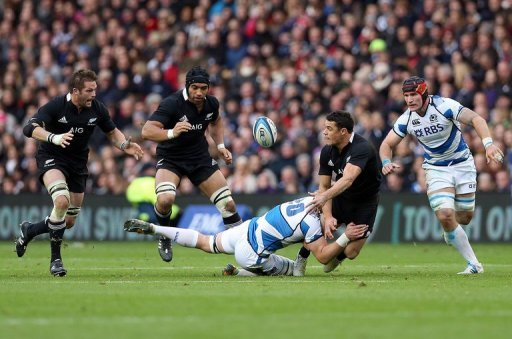 World champions New Zealand made the Scots pay for defensive lapses at crucial moments in racking up a 51-22 victory
