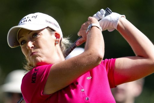 Cristie Kerr had six birdies and three bogeys and parred the last three holes at Guadalajara Country Club
