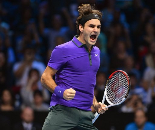 Roger Federer admits he relishes stealing the spotlight at the ATP Tour Finals