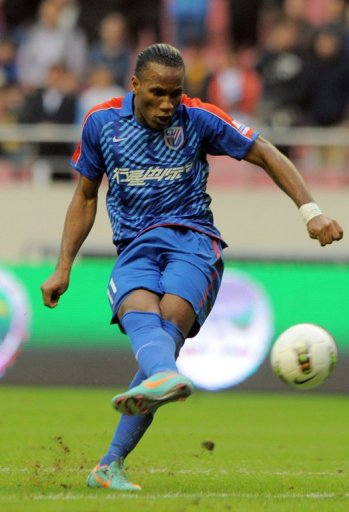Ivory Coast striker Didier Drogba play for Shanghai Shenhua on a contract said to be worth $300,000 a week