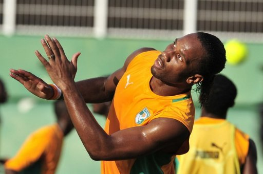 Didier Drogba, pictured in September