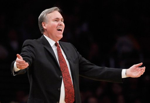 The Los Angeles Lakers have appointed Mike D'Antoni, pictured in 2011, as their new coach
