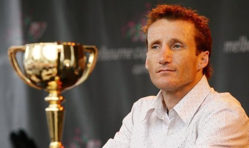 Australian Damien Oliver, pictured in 2006, is a two-time Melbourne Cup winner