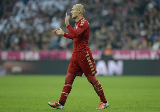 Arjen Robben, pictured on November 10