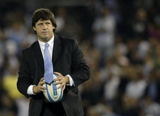 Argentina coach Santiago Phelan, pictured in October