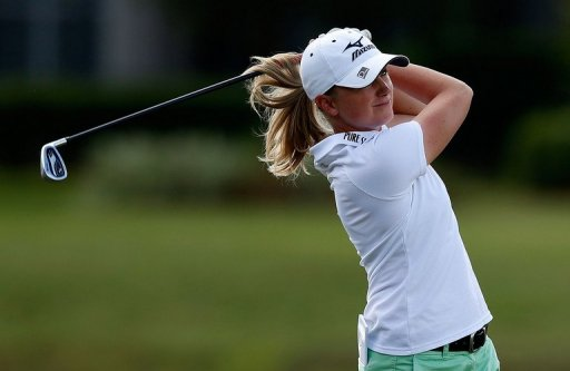 Newly-crowned player of the year Stacy Lewis