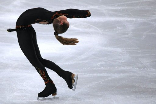 Russia's Julia Lipnitskaia performs her routine during the ladies short program
