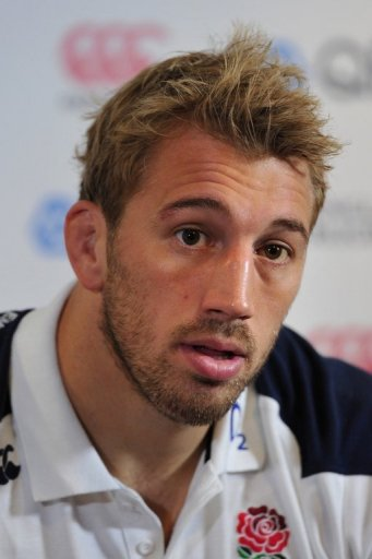 England's captain, Chris Robshaw, seen here on the eve of their rugby union Test match against Australia