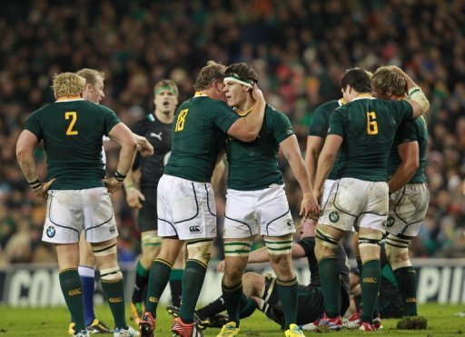 Saturday's Test will be the 22nd between South Africa and Scotland since they first met in 1906