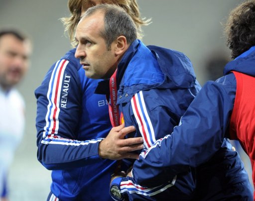 France's coach Philippe Saint-Andre acknowledges the Pumas may present the stiffest of their three tests