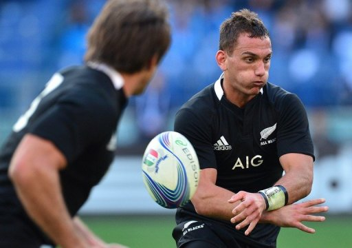 Aaron Cruden was given a full game and seized the day, converting four out of five times and adding three penalty goals