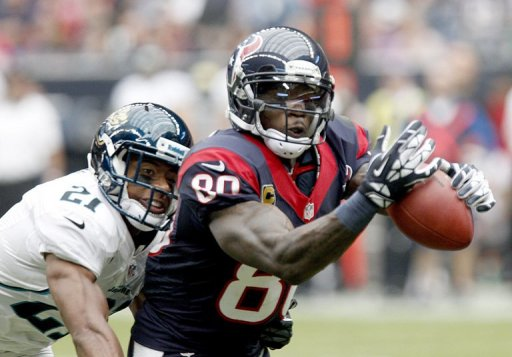 Houston Texans' Andre Johnson finished with 14 catches for 273 yards