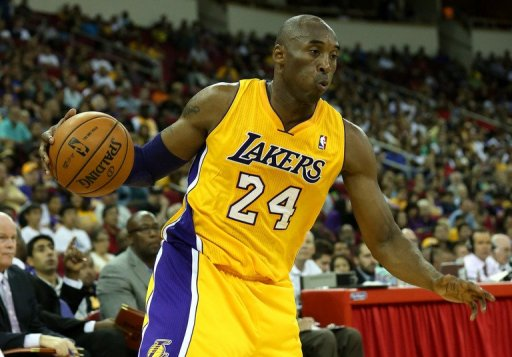 Kobe Bryant finished with 22 points, 11 rebounds and 11 assists for the Los Angeles Lakers