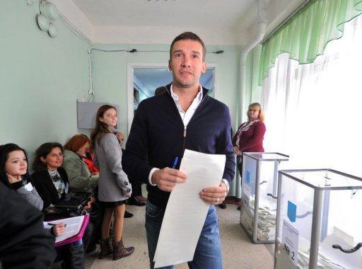 Andriy Shevchenko says it would be