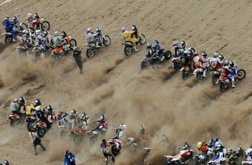 The mythical endurance race that originated in 1978 when it was run from Paris to Dakar,